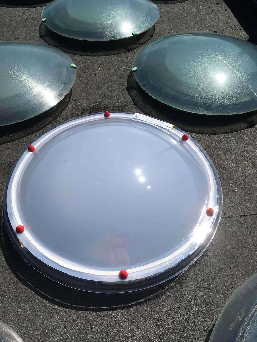 Flat Roof Skylight Dome